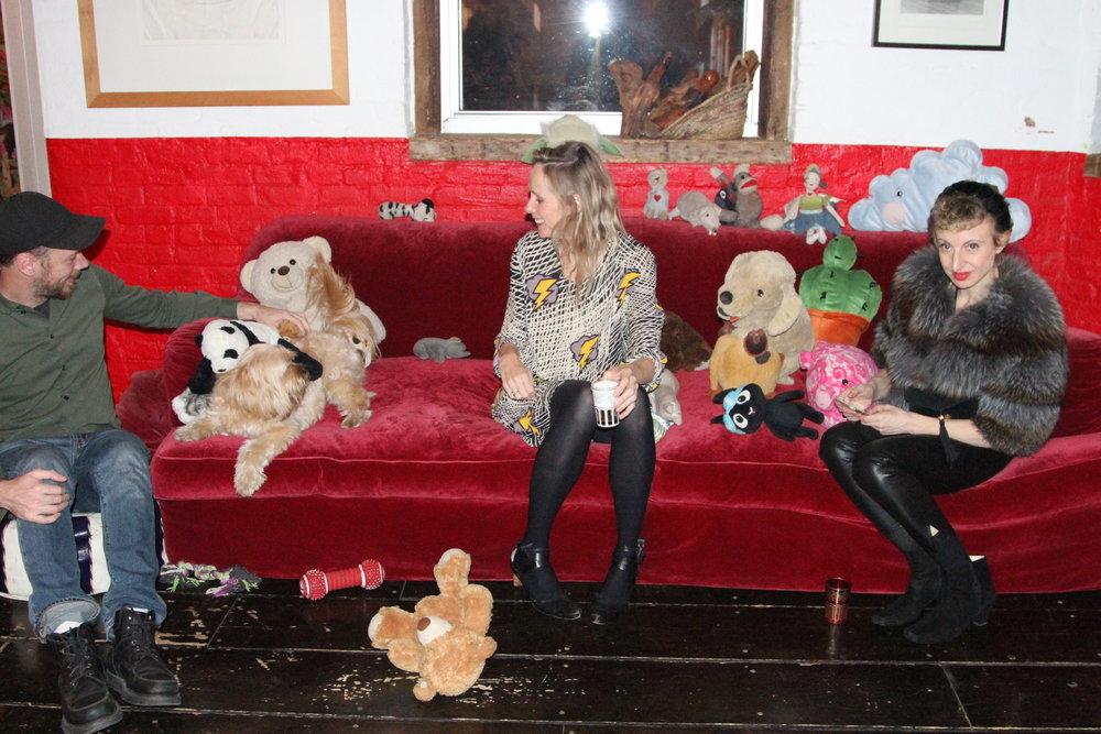 Conrad Ventur, Pooh Bear, Lucy Taylor & Poppy King