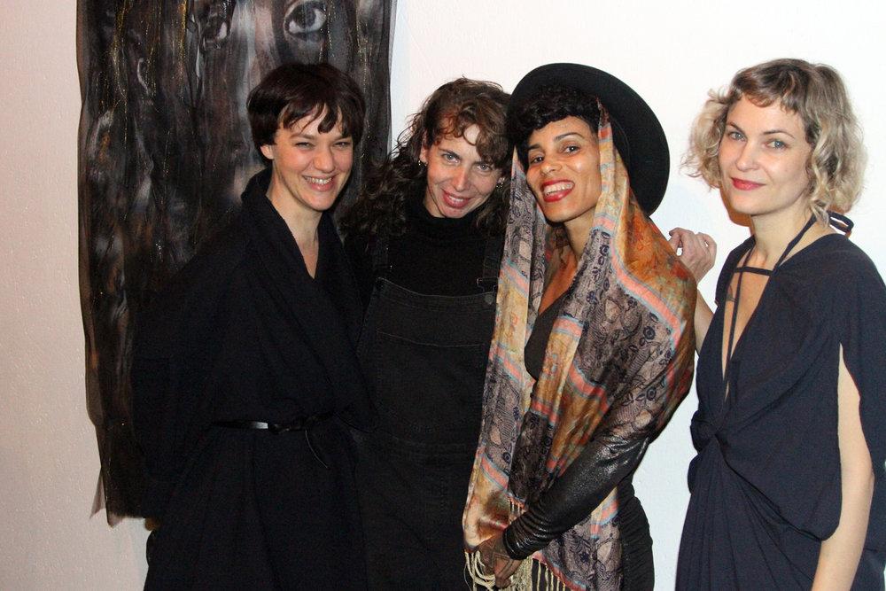 Rebecca Horn, Rona Yefman, Isabelle Lumpkin & Leah DeVun