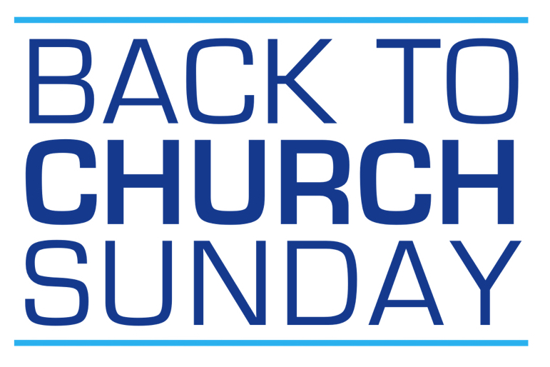BACK TO CHURCH 2015