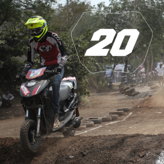 Rider No: 20