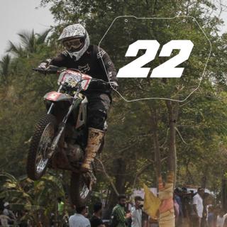 Rider No: 22