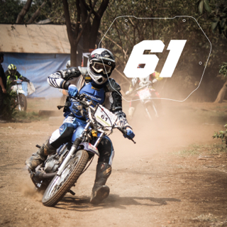 Rider No: 61