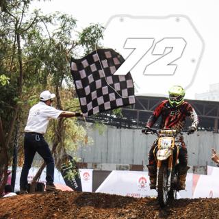 Rider No: 72