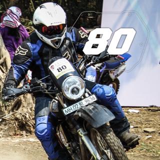 Rider No: 80