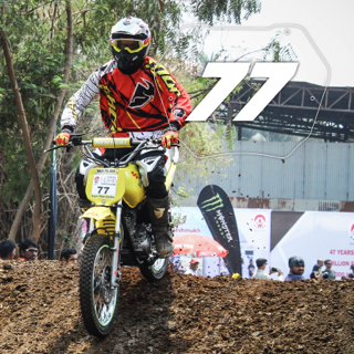 Rider No: 77