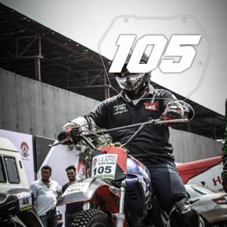 Rider No: 105