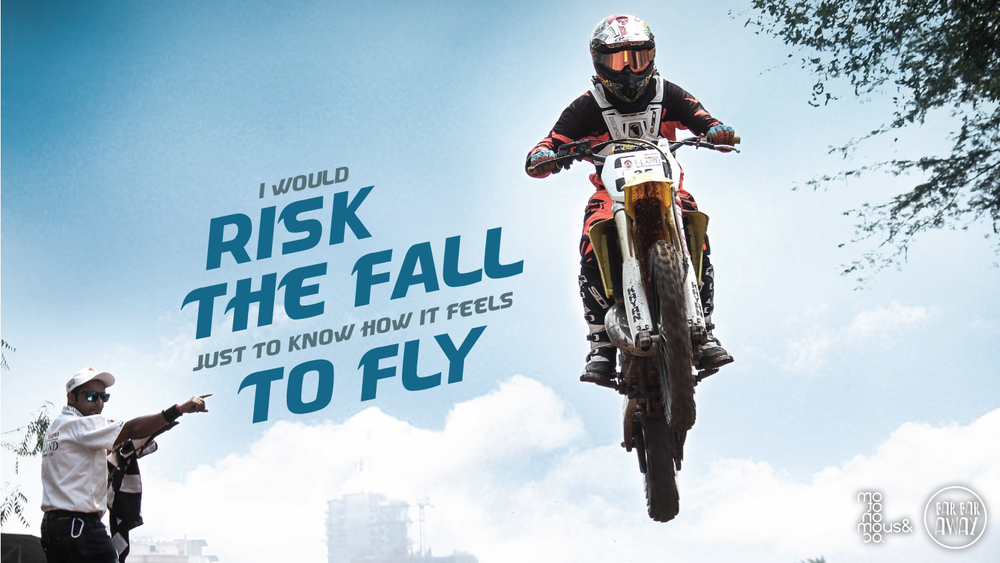 RISK THE FALL TO FLY