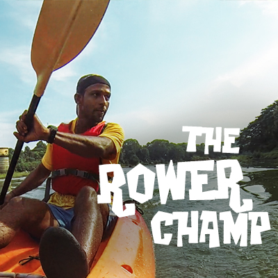 Rowing Champ at Chaliyar River