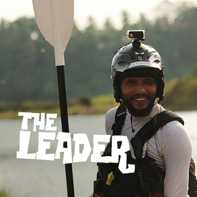 Rajip - The Kayaking Leader at Chaliyar River