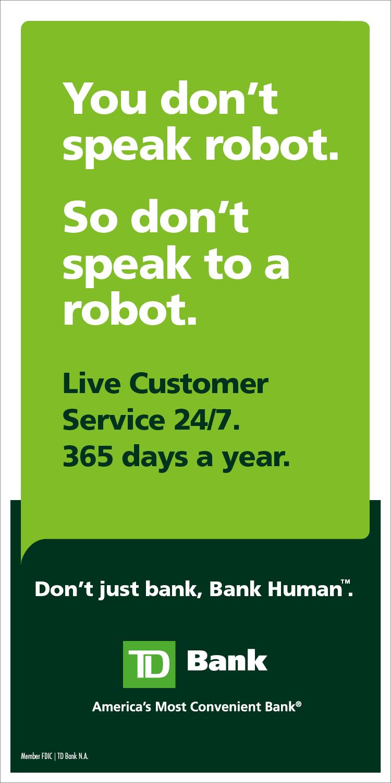 td bank ad