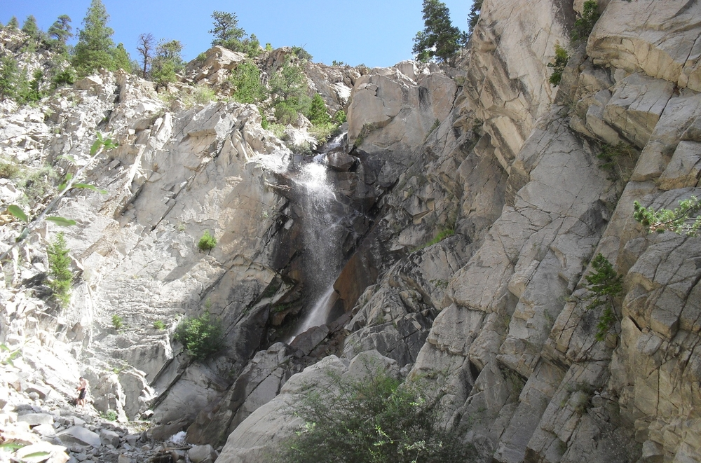 Agnes Vaille Falls - July 2012