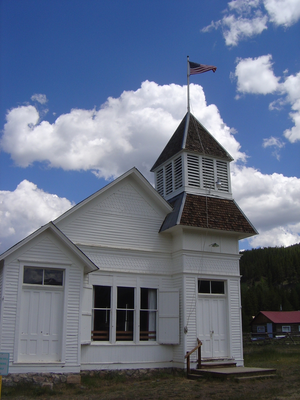 Church in Tincup Colorado