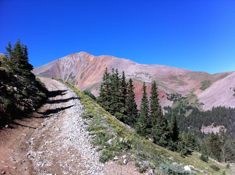 Trail to Mt Antero