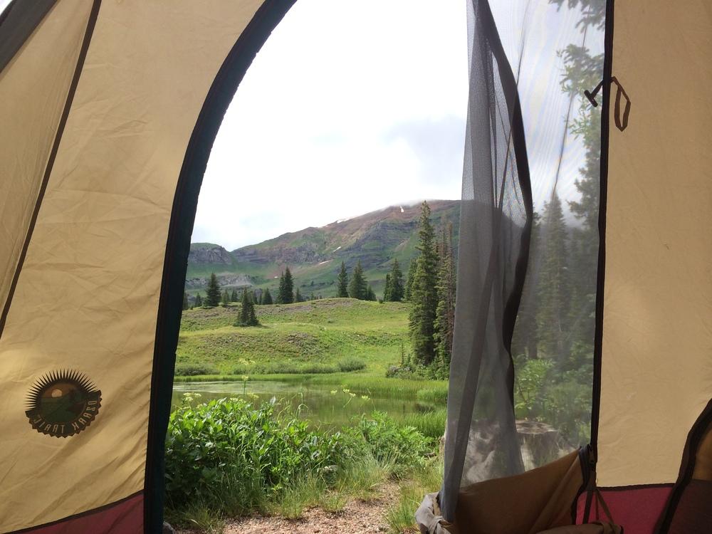 Lake Irwin Campsite #12