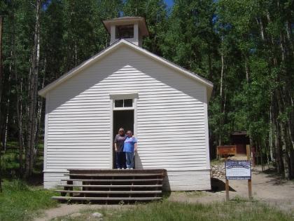 St Elmo School House Outside