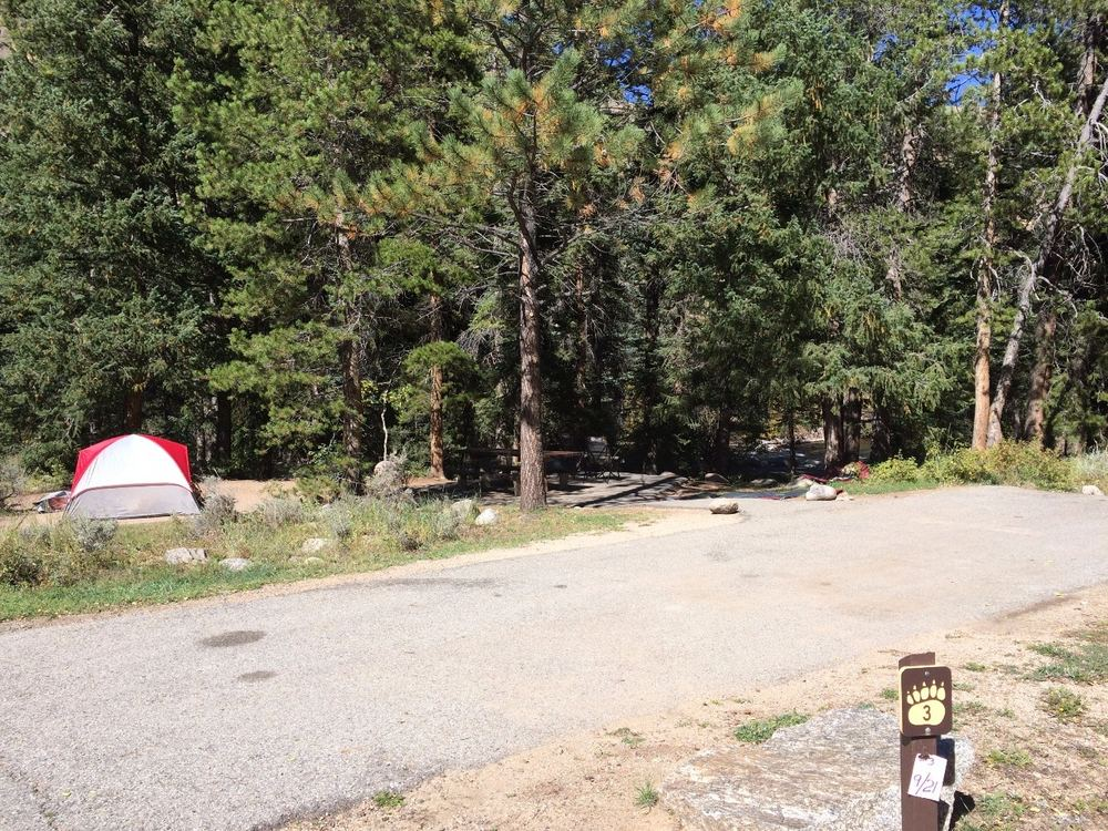Campsite #3 - Rosy Lane Campground