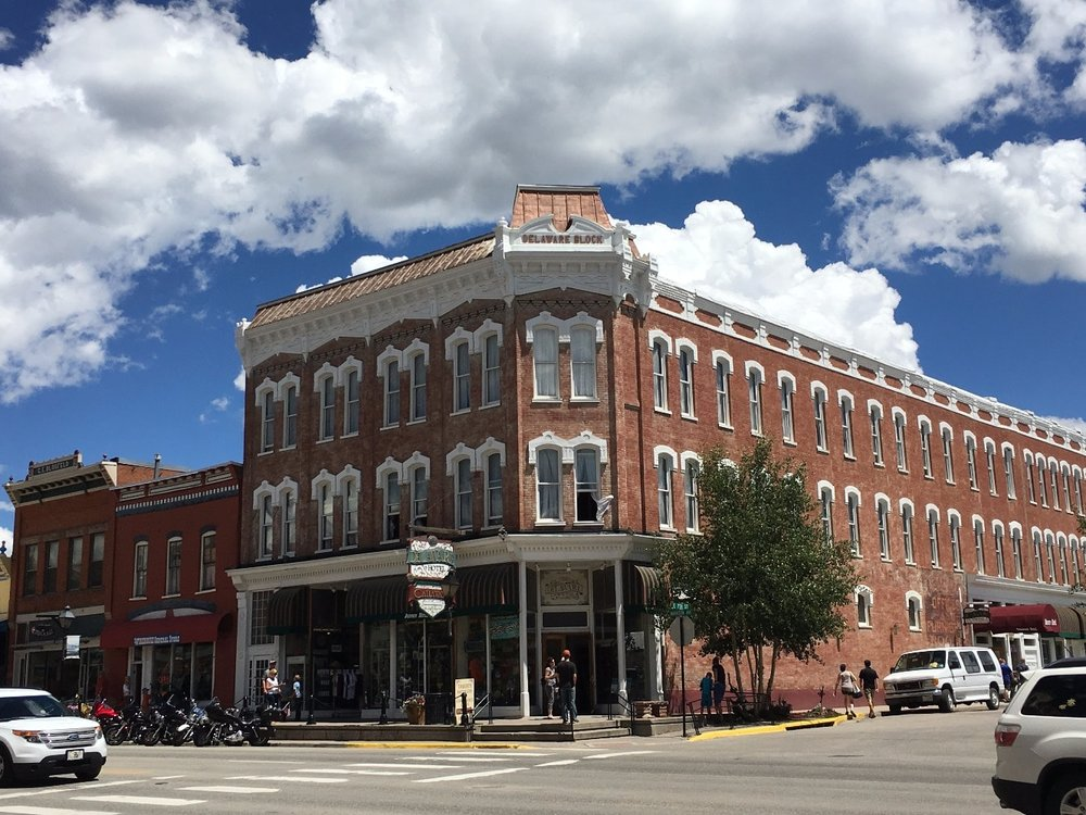 Historic delaware hotel in downtown Leadville colorado