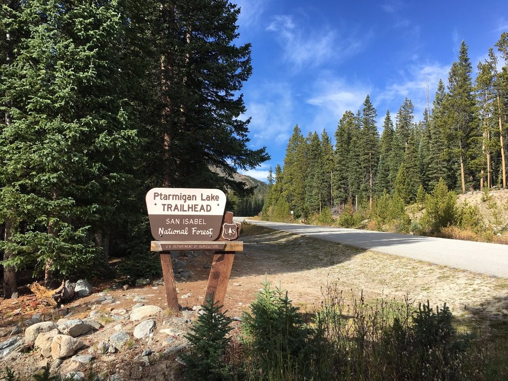 Ptarmigan Lake Trailhead