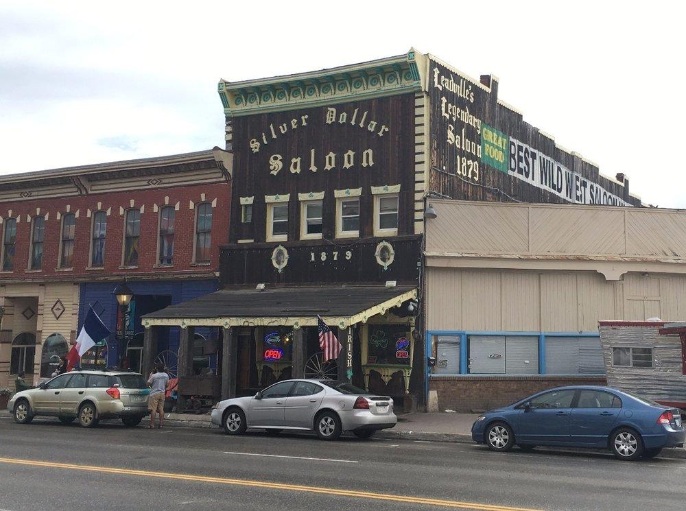 Silver Dollar Saloon Leadville Colorado