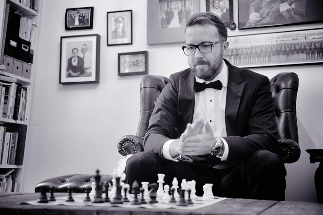 Tyler Schwartz, Chess at Three Co-Founder