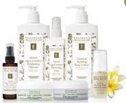 Eminence Organics Face wash, moisturizer, oil, serum & eye cream