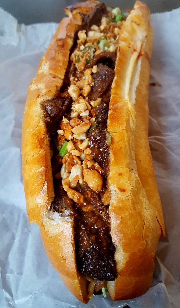 Cuong's Vegan Sandwhiches