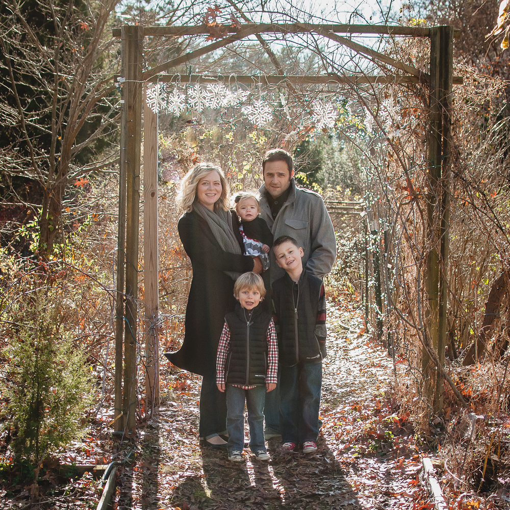 Family Photo Session.  December 2014. Severn, MD.
