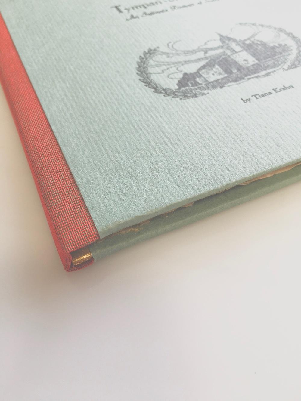tiana krahn handmade book tympan-on-tyne