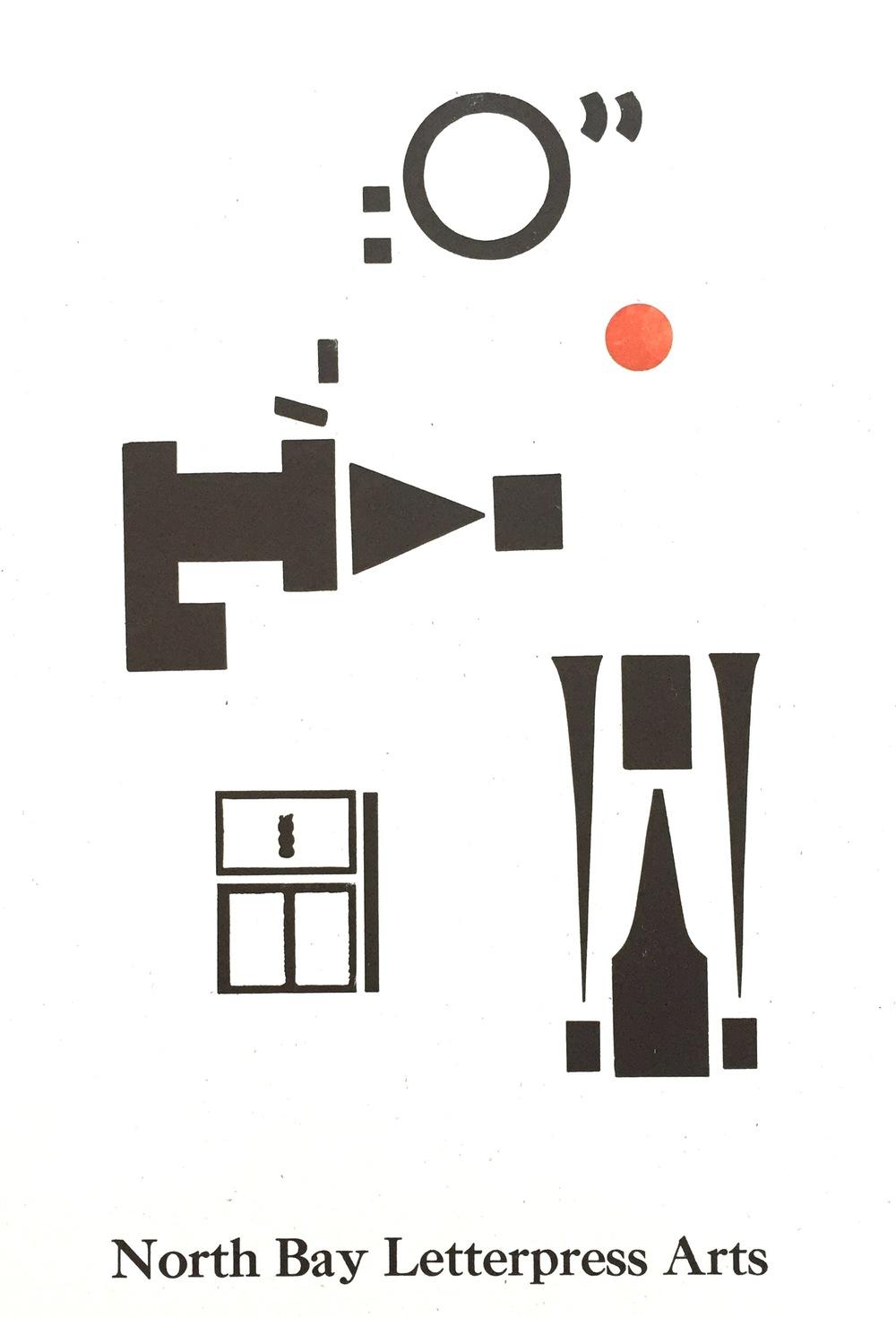 nothbay letterpress arts poster