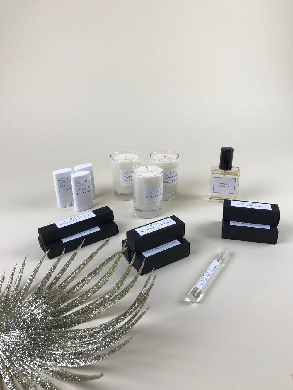 na nin perfume and salve