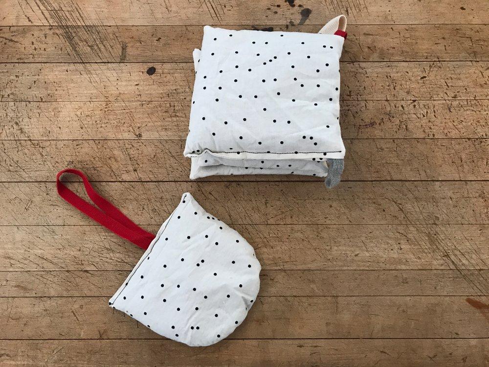 handmade lavender pillow