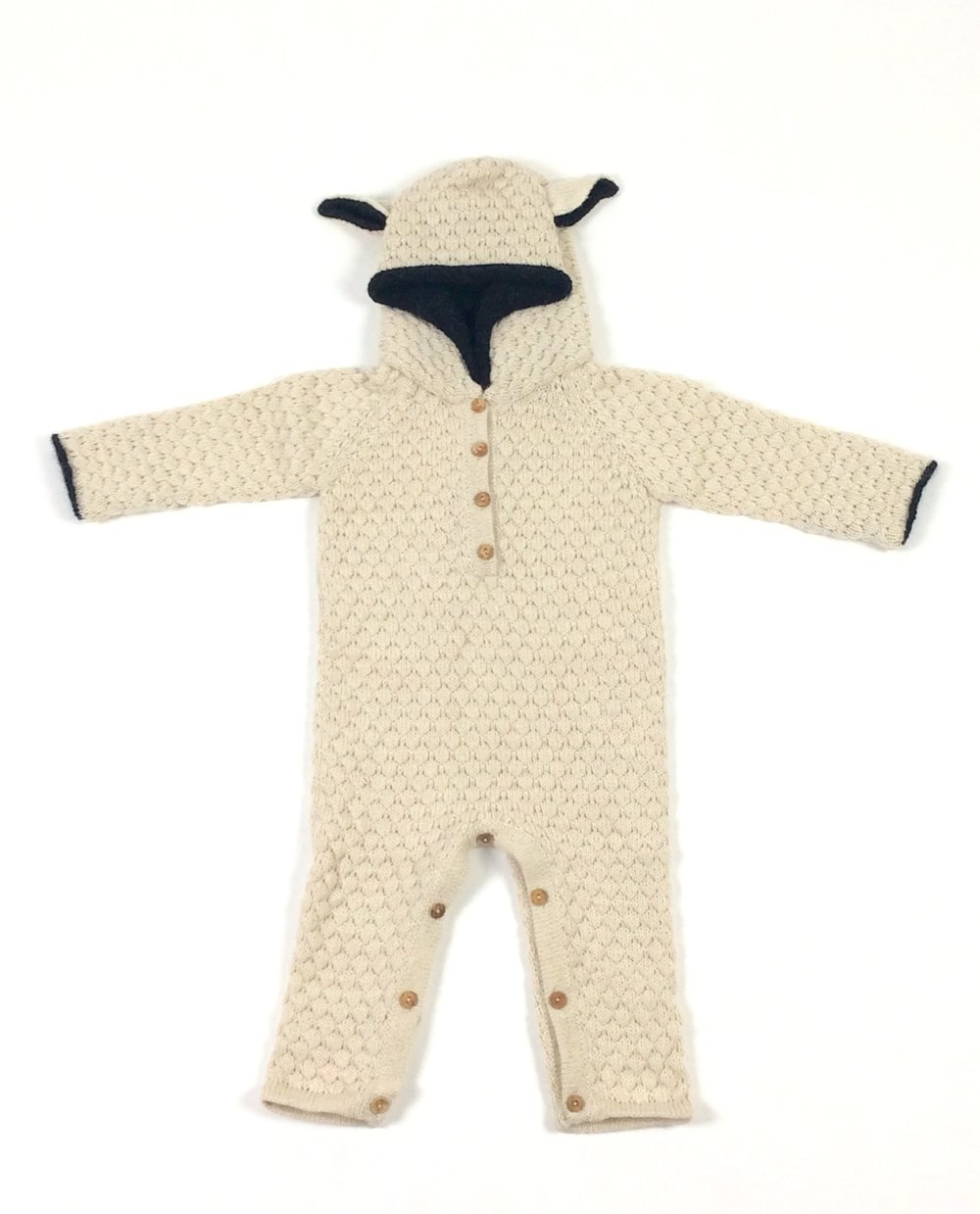 oeuf childs sheep union suit
