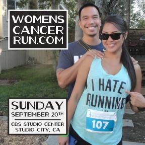 Click to visit Women's Cancer Run website.