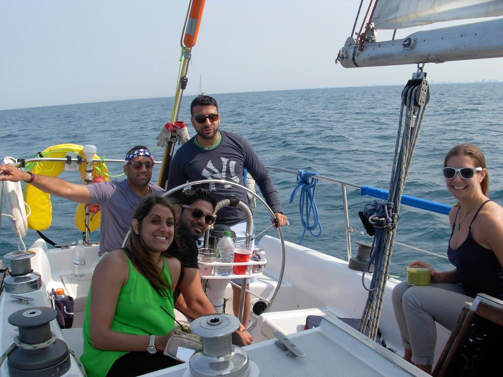 Salty Dog Sailing Chicago Charter Boat Tour July 4 2015_4.JPG