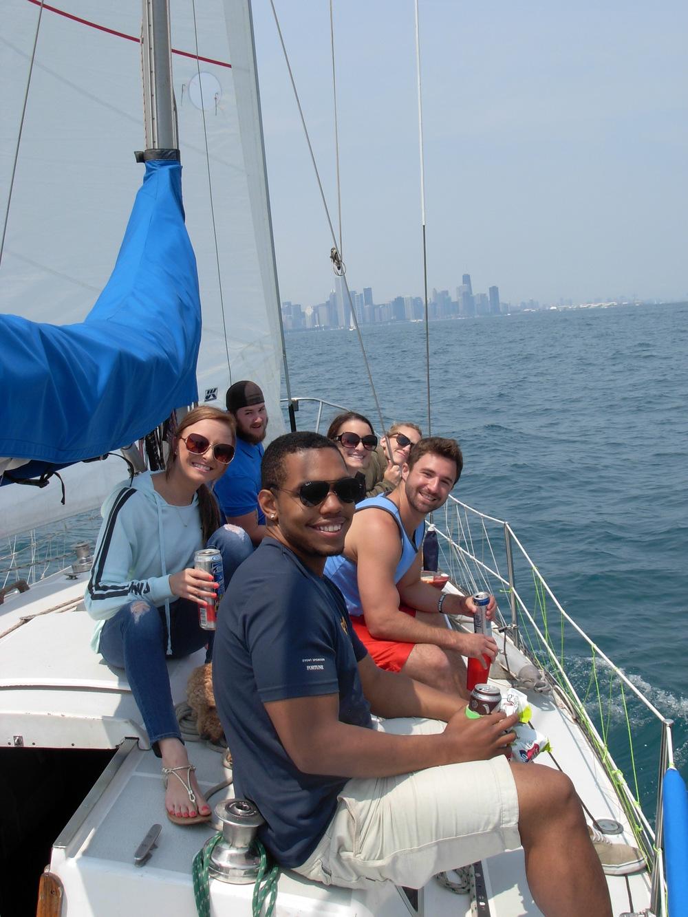 Salty Dog Sailing Chicago Charter Boat Tour July 4 2015_9.JPG