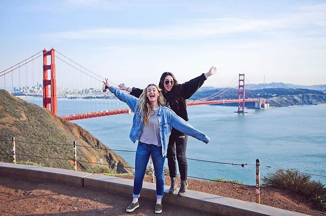 Trying to avoid leaving our sisters for winter break, thank you San Francisco for a weekend in the city✨