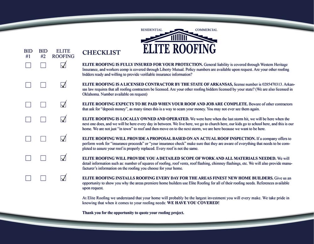Elite-Roofing-Checklist