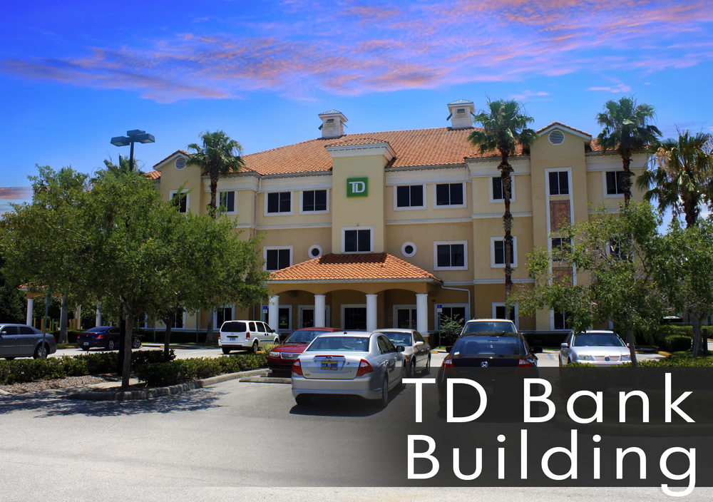 TD Bank Building in Winter Garden For Lease Office Space