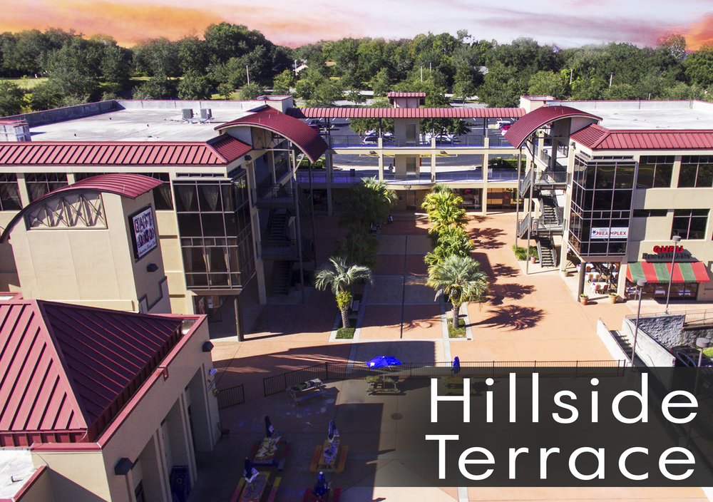 Hillside Terrace Clermont Retail and Office and Restaurants for Lease