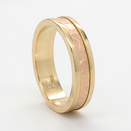 wedding gold wide yellow court bands band ring de beers