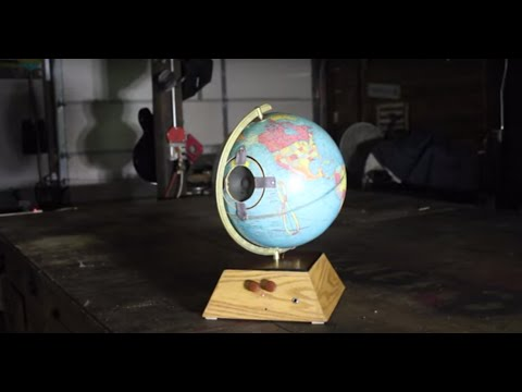 A globe made into an amp.