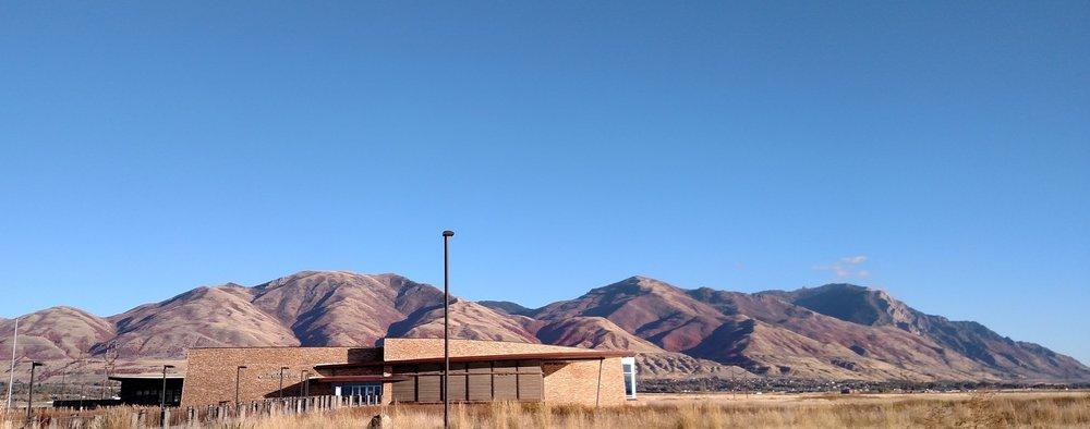 Bear River MBR Visitor Center.