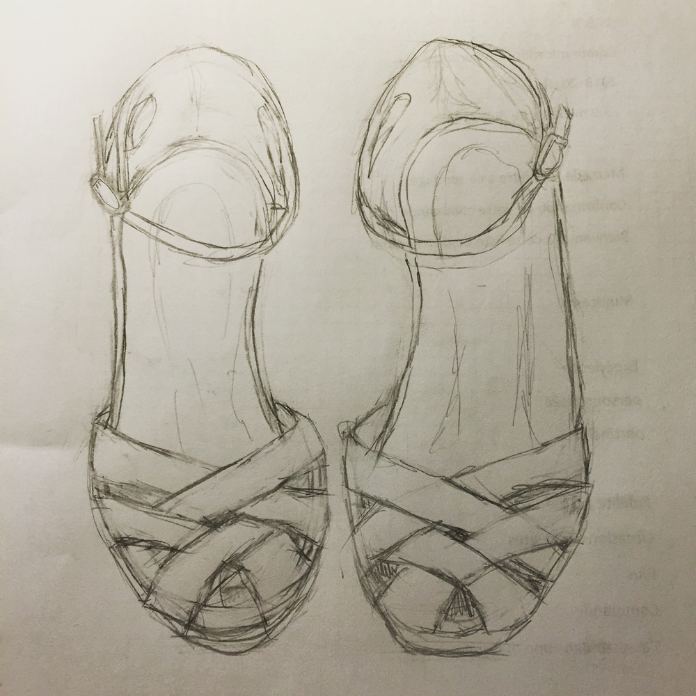 First pass sketch
