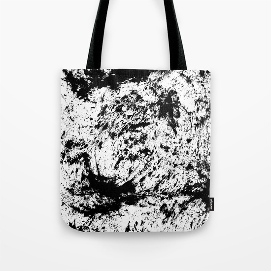 Inky texture 15 Tote Bag