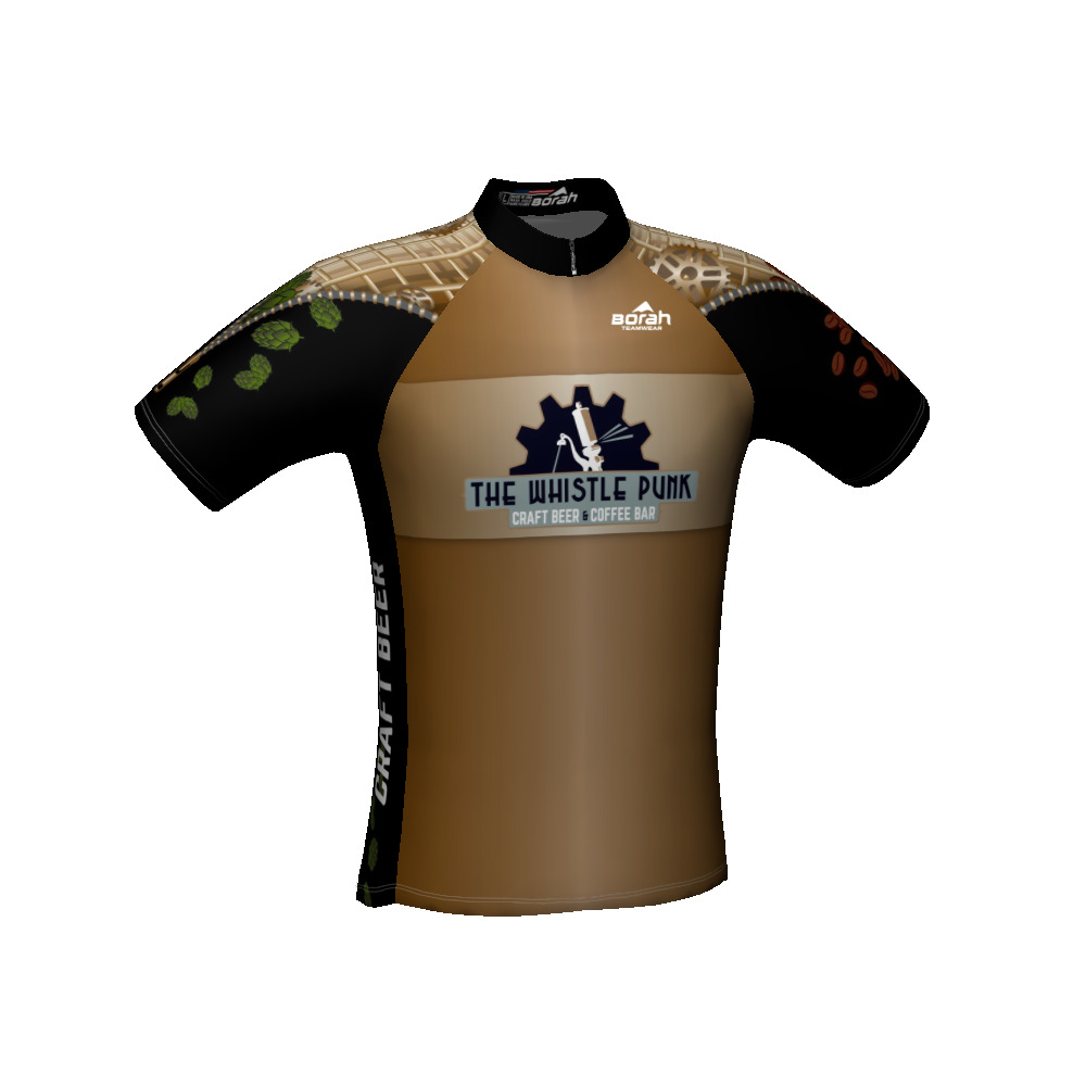 The whistle punk bike jersey the whistle punk for Craft beer cycling jerseys