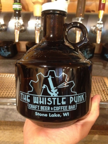 You can fill a growler with any of our tap beers, as well as cold brew, to take home in one our daintily, distinguished 32oz growlers.