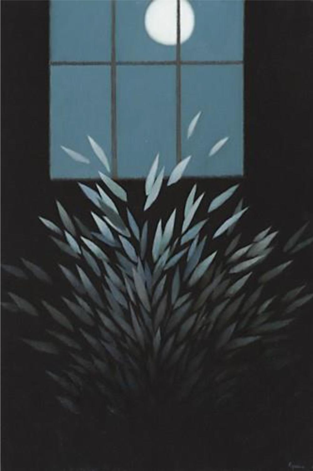 Three A.M.  Oil on Panel 24 x 16