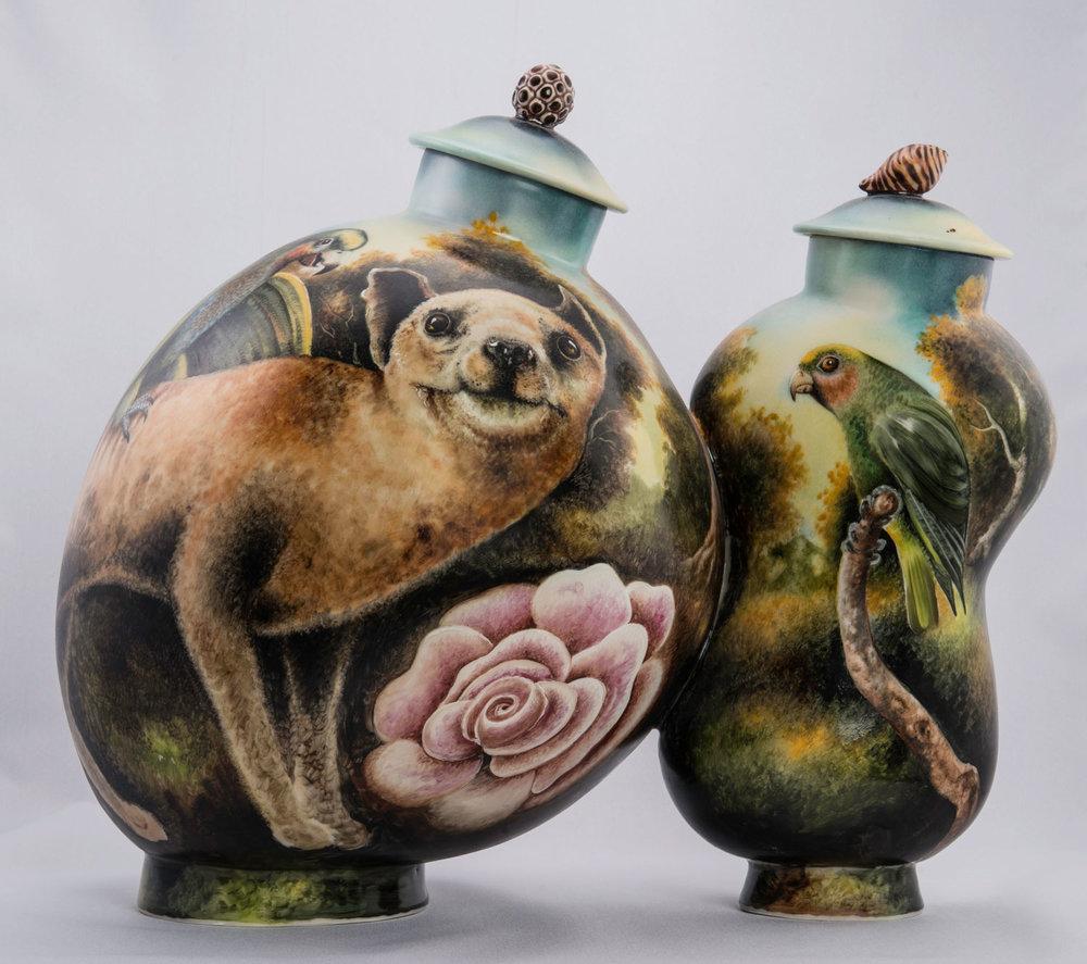 Kurt Weiser  Lemur Vase  $ 12,000 • SOLD