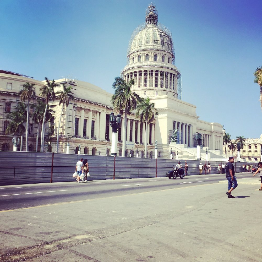 The Cuban Capitol, Havana