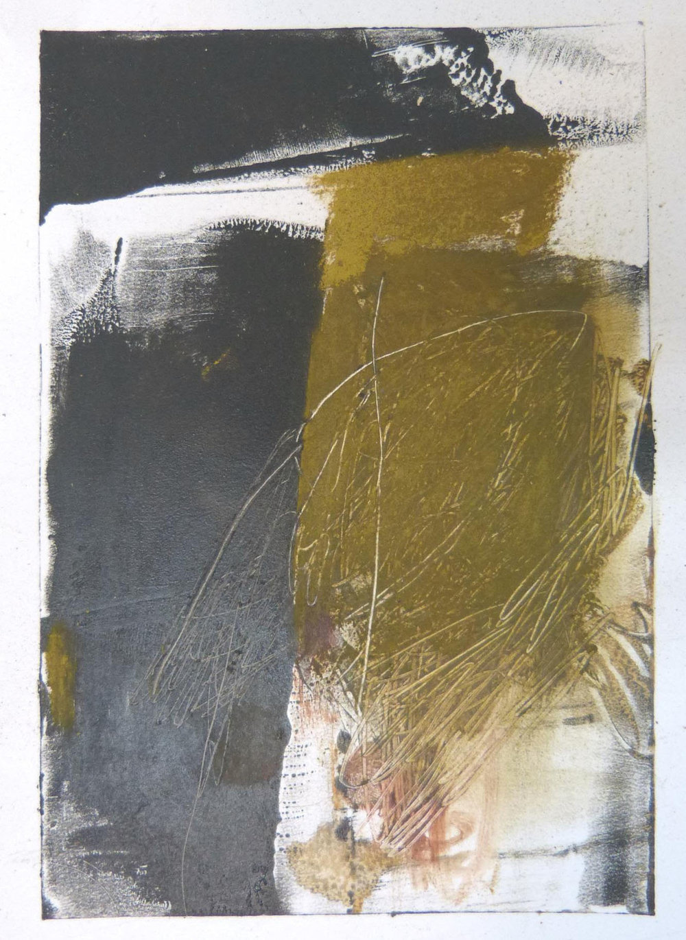 Rebecca Crowell, Ballinglen Series: 2, Oil and cold wax on paper, 8 x 10, $200
